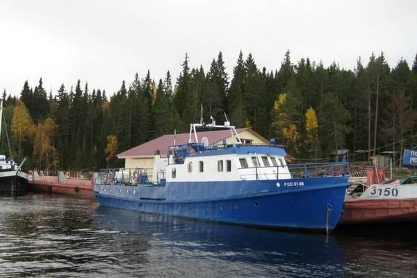 Бывшее судно Клуба юных моряков Карелии выставлено на торги