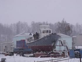 Беляков и УК-5. 3-й год на слипе
